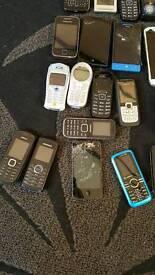 50 joblot mobile phones