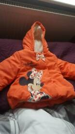 Baby girl coat for 3 to 6 months