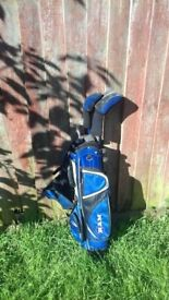 Junior Golf clubs - collect from Caister in sea only, includes putter, utility wood, 7 & 9 irons