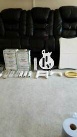 Wii console with 44 games and accessories