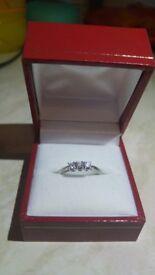 Engagement ring Platinum cost £1200