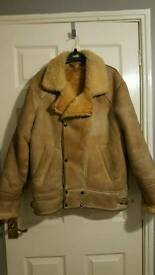 Womens sheepskin jacket