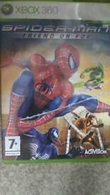spiderman friend or foe game xbox 360