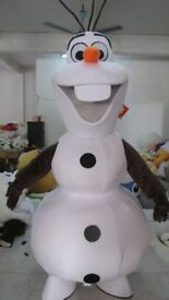 Olaf mascot costume for sale