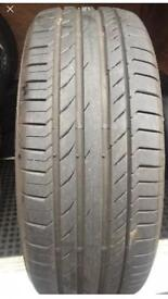 235 55 19 continental 8mm tread as new FREE FITTING WE COME TO YOU
