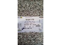 Belfast Tattoo ×4 excellent seats, SSE Arena North Lower Tier ROW F SEAT 48-51