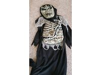 Kids scary dressing up costume 4-5