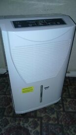 dehumidifier good working condition looks unused large tank constant drain programmable digital dis