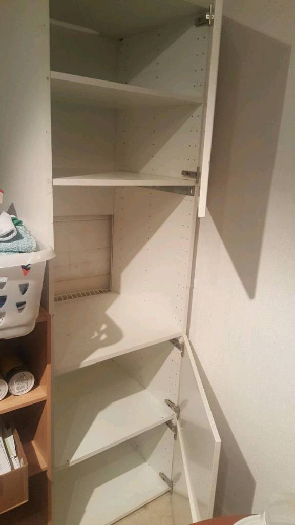 Very tall kitchen larder cupboard