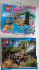 New legos, two different type, original packages