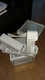 Samsung RS21 American f/freezer drawers and shelves great clean condition £5 per item or offers