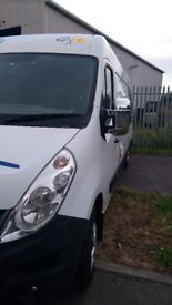RENAULT MASTER 3 BIRTH WITH SHOWER COOKER AND FRIDGE ,HIGH ROOF LONG WHEEL BASE