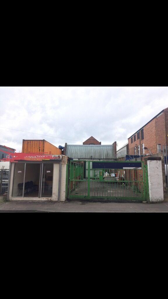 Workshop Garage/Storage/Industrial Unit/Bodyshop/Offices
