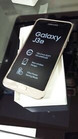 SAMSUNG J3 (6)/ 8 GB/ GOLD/ SEALED BOXED/ UNLOCKED with 1 Year Warranty