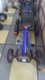 Go Kart for sale like new blue colour