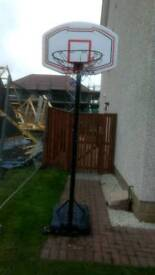 Basketball hoop (on stand)