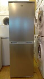 LOGIK silver Fridge Freezer slightly marked
