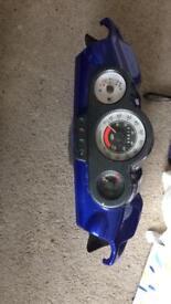 speedfight 2 lc 50cc clocks plus handle bar panels