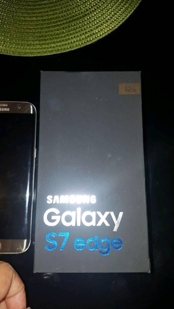 Samsung s7 edge unlocked gold.