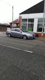 Modified Vauxhall insignia