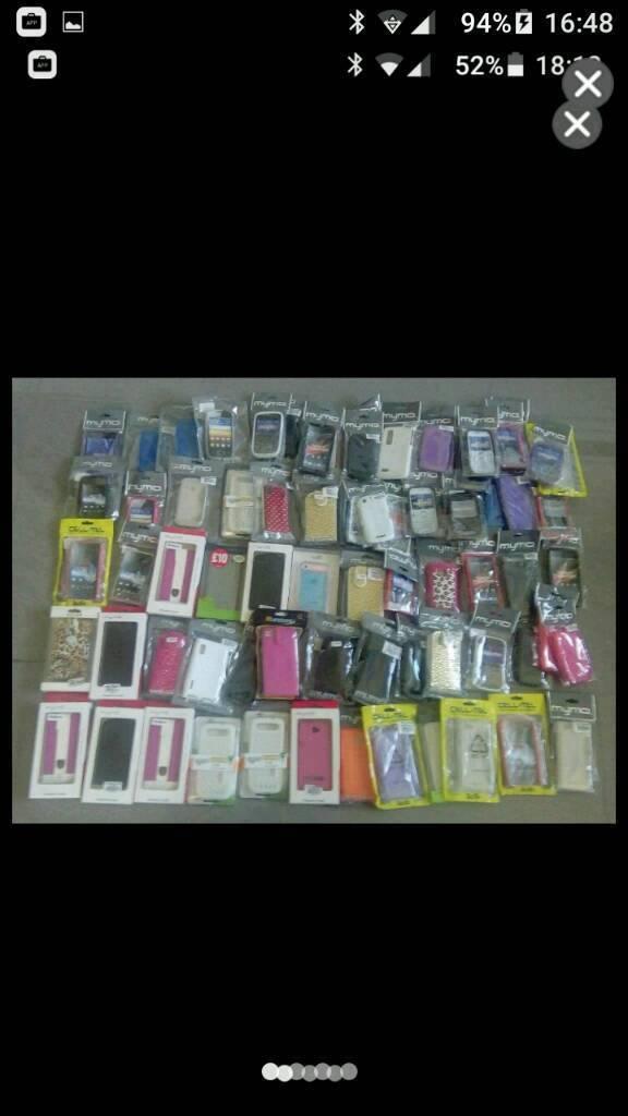 Phone cases x 80