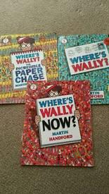 Where's Wally books x3