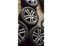 5x112 16 inch vw alloy wheels