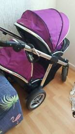 Oyster max 2 doubble pushchair