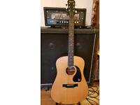 Rare Epiphone Presentation Series Acoustic guitar 1992 Made in Korea. SWAP TRADE SELL