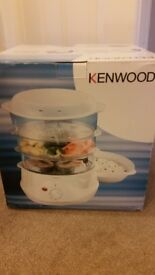 Kenwood Steamer. BRAND NEW IN BOX