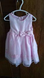 Designer Girls Pink Dress by Olivia Rose Age 2 - Excellent Condition