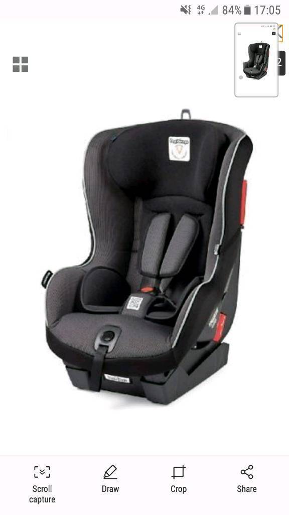 2x Peg Perego Car Seat Isofix Sistem