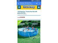 Best way 12ft framed pool