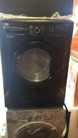 Reconditioned Beko Black Washing Machine