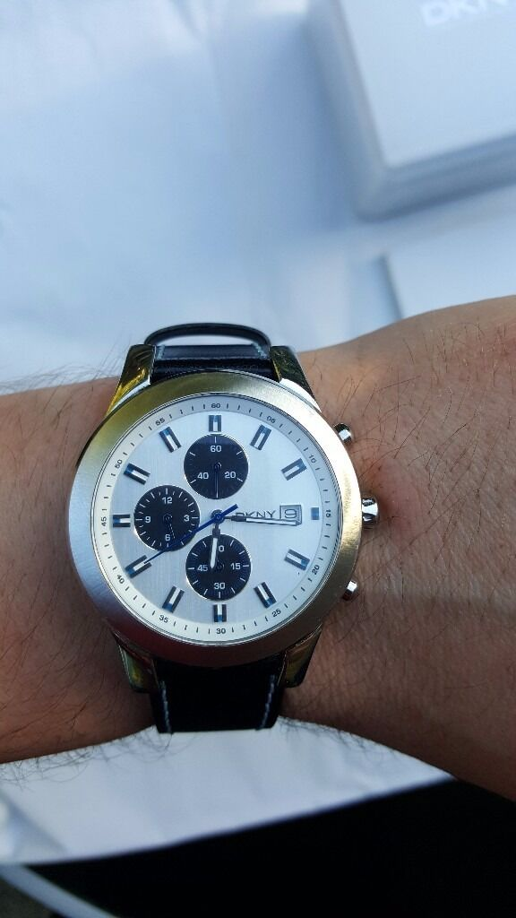 watch DKNYused only 3 times ,price in shop 137 poundsin Reading, BerkshireGumtree - watch DKNY like new, used only 3 times no scratch The watch has a box and a document perfect condition price in shop 135 pounds