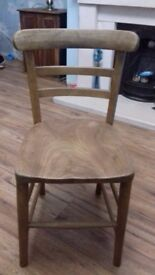 Lovely vintage childs chair