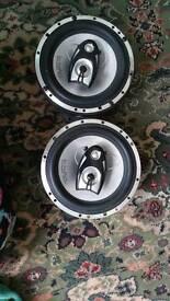 In phase car speakers model xt63