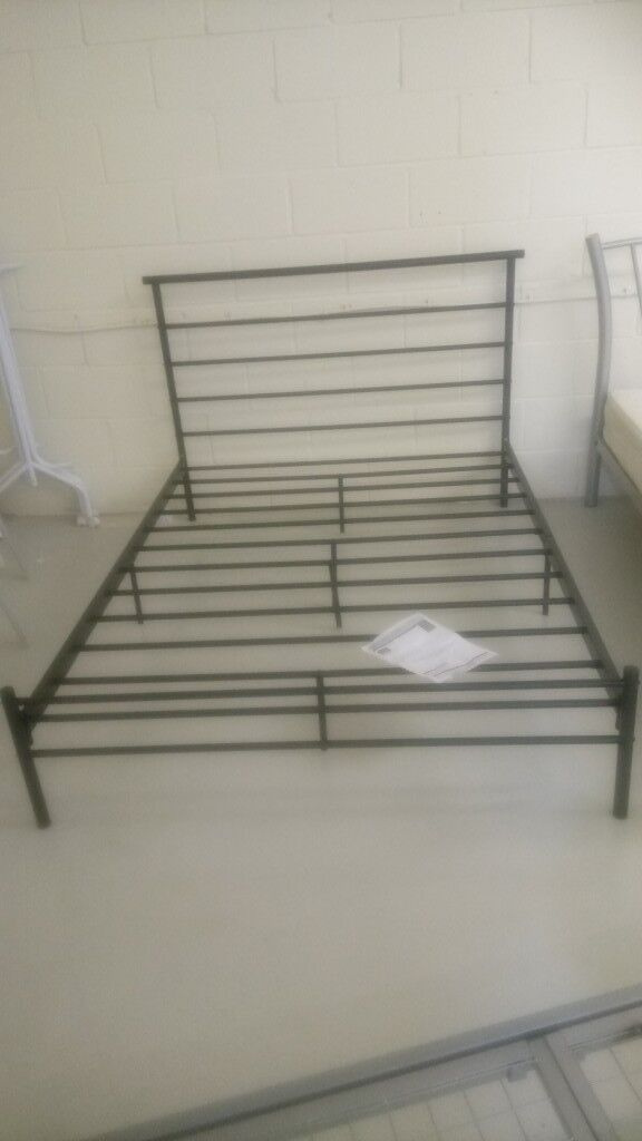 Double Metal Bed Frame Copley Mill 2nd Hand Furniture Stalybridge