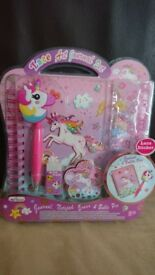 Brand New Unicorn Journal Set - Great Christmas Gift Idea