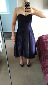 Purple prom/party/ball/wedding dress, size 8