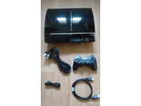 PS3 60gb on Original 3.55 Firmware - PS1 & PS2 Backward Compatible - Excellent Condition