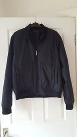 Men's Black Versace Classic Bomber Jacket - medium
