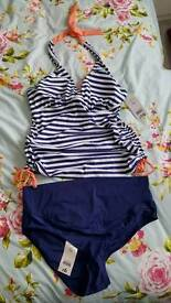 Maternity tankini size 16, new with tags