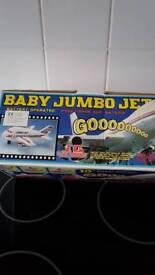 Baby jumbo jet