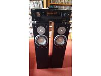 Yamaha RXV363 Natural Sound AV Amp & Set of Ettax Liberty 150 Watt Speakers