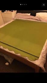 Lime green blackout blinds