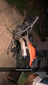 Ktm 640 lc4 for breaking