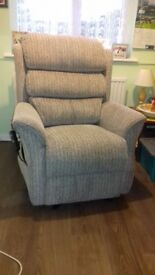 Dual Motor Lift & Recline Cosi Chair. Excellent condition, new Dec 2017. From smoke & pet free home