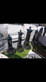 Heavy duty cast iron garden water taps and pumps