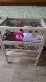 Large wooden hamster house for sale / hamster cage